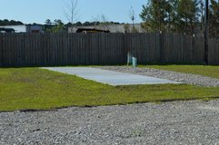 Camper sites   Monthly lot space  $ 375.00 monthly   Call 910-389-7710 in Camp Lejeune, North Carolina