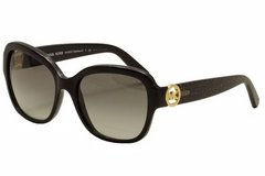 ***BRAND NEW***Women's MICHAEL KORS Sunglasses Blacl//Black Glitter 55*** in Kingwood, Texas