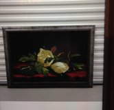 White Flowers Painting in Kingwood, Texas
