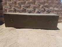 Wooden Trunk in 29 Palms, California