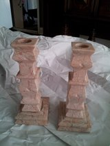 Marble Candlestick Holders in Naperville, Illinois