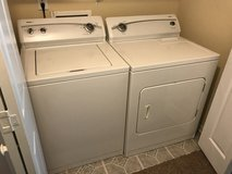 Kenmore washer and dryer in Clarksville, Tennessee