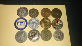 Coins, military challenge in Fort Campbell, Kentucky
