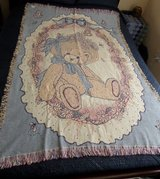 NEW Cherished Teddies Daisy Tapestry Throw in Kingwood, Texas