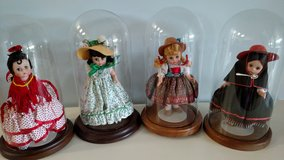 "Madam Alexander Dolls 8"" with Glass Display Domes in Fort Campbell, Kentucky"
