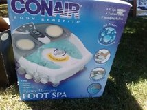 Foot spa in Vacaville, California