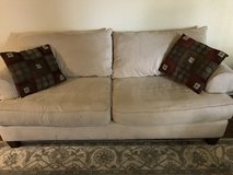 Living room coach and chair in Temecula, California