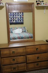 Bedroom Set Full size bed 4pc in Fort Campbell, Kentucky