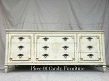 Old White Italian Provincial Dresser in Kingwood, Texas