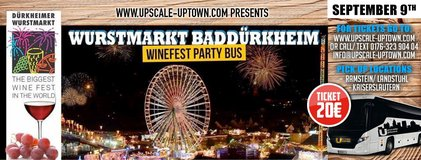 Bad Durkheim Winefest Party Bus in Ramstein, Germany