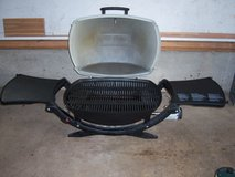 WEBER MODEL 220 PORTABLE GRILL (USED ONCE) in Glendale Heights, Illinois