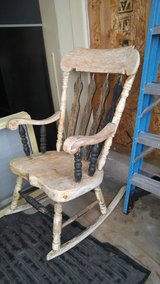Large rocker partially stripped in Morris, Illinois