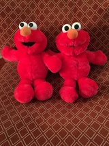 "Twin 15"" Squeeze My Stomach Plush Elmos in Lockport, Illinois"