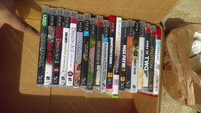 17 ps3 video games and 1 xbox360 game in Fort Campbell, Kentucky