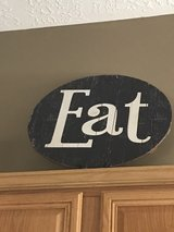 EAT wooden sign-large! in Kingwood, Texas