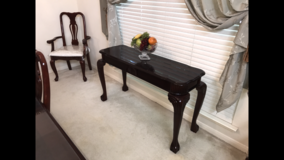 Solid Wood Sofa Table in Baytown, Texas