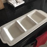 Serving platter-3 Sections in Kingwood, Texas