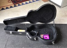 Taylor guitar with new picks and strings plus amplifier cord in Stuttgart, GE