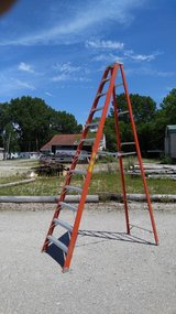 Ladder in Ottawa, Illinois