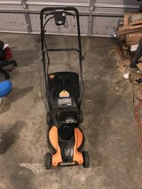 Worx battery-operated lawnmower in Warner Robins, Georgia