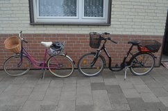 two bicycles in Ramstein, Germany
