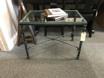 Glass Top End Table in Bartlett, Illinois