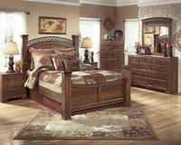 NEW,5 piece Bedroom sets as low as 32.00 per month in Camp Lejeune, North Carolina