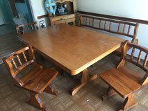 Handcrafted Wooden Country Dinning Table in Camp Lejeune, North Carolina