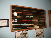 HO Scale Train Display Case Wall Mounted in Chicago, Illinois