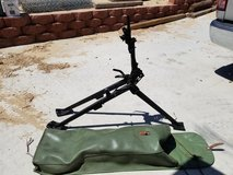 Collector machine gun Tripod in 29 Palms, California