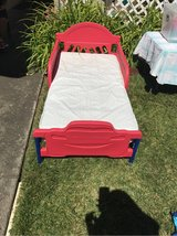 Lightning McQueen kid Bed and frame in Vacaville, California