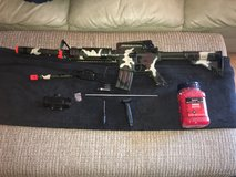 Double Eagle M83 Air Soft Gun + Attachments in Hopkinsville, Kentucky