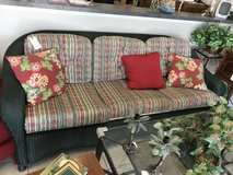 Lloyd Flanders Wicker Sofa in Bartlett, Illinois