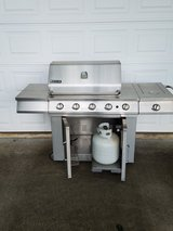 Jenn-Air Stainless Steel Gas Grill in Perry, Georgia