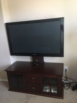 50 inch Samsung Plasma TV, TV Stand, and Apple TV (Bundle) in Converse, Texas