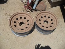 ***  2 x Trailer Wheels  *** in Yucca Valley, California