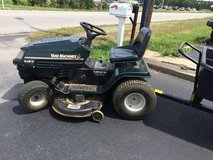 Riding mower & lawn trailer (Will give a little for your non working rider) in Fort Knox, Kentucky