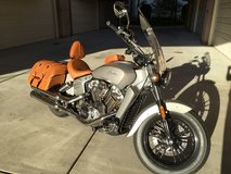 Indian Motorcycle in Fort Bliss, Texas