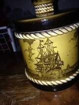 Tobacco Pipe Set With Pipe holder and Jar Painted with Ships in Travis AFB, California