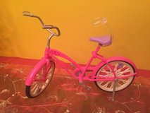 Mattel~Barbie Doll Bicycle Pink with Kick Stand in Shorewood, Illinois