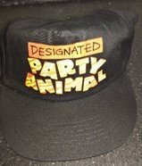 """Cap Black """"Designated Party Animal in Ramstein, Germany"""