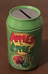 Apples to Apples Dice Game in Okinawa, Japan