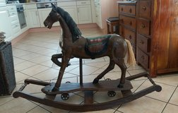 Antique wooden Rocking Horse in Spangdahlem, Germany