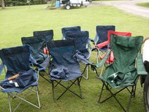 9 fold-up chairs in Fort Knox, Kentucky