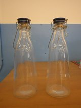 2 one liter glass bottles in Temecula, California