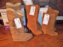 GENTLY USED LADIES BOOTS  SIZE 8 in Warner Robins, Georgia