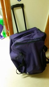 purple bag  VICTORIA STATION / Big size duffle bag / Checked-in Bag in Okinawa, Japan