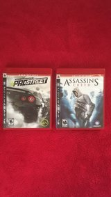 Need for Speed Pro Street and Assassins Creed Bundle in Fort Rucker, Alabama