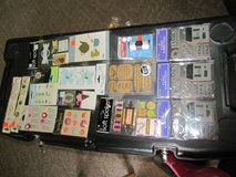 large craft lot with stamps stickers and more in Fort Campbell, Kentucky