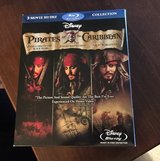 3 Pirates Blu-Ray Movies in Bolingbrook, Illinois